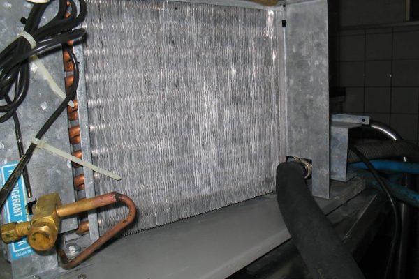 Wärmetauscher nach der Proper Lüftungsreinigung